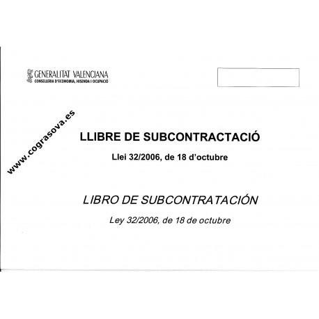 Libro Registro Construcción