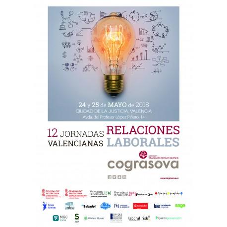 """Libro Ponencias """"XII Jornadas Valencianas de RRLL"""" (2018)"""