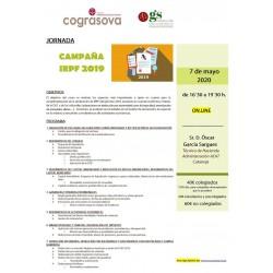 COLEGIADOS: JORNADA CAMPAÑA IRPF 2019