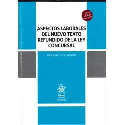 """Libro: """"Aspectos laborales del nuevo texto refundido de la Ley Concursal"""""""